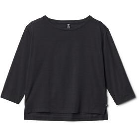 Mountain Hardwear Everyday Perfect 3/4 Camiseta Mujer, negro